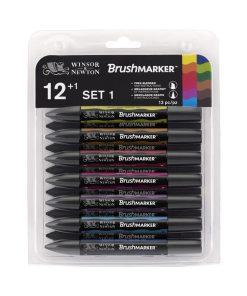 Set 12+1 markere Brushmarker