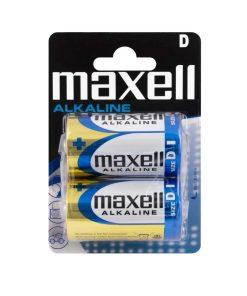 Maxell - Baterii Alkaline D/R20