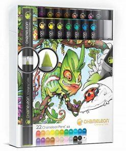 Set markere 22 culori Deluxe