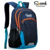 Ghiozdan S-cool Colour Edition Blue SC 401 frontal