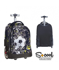 S-cool Collection Ghiozdan Troller Easy Travel Team Leader SC763