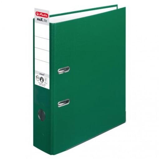 Herlitz Biblioraft Plastifiat 8 cm Verde