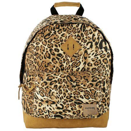 PIGNA- Ghiozdan adolescente Leopard fyrs 15541