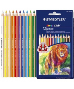 Staedtler - Noris club creioane colorate jumbo