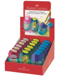 Faber-Castell - Ascuțitoare dublă cu radieră