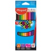 Maped - Creioane colorate triunghiulare Color Peps set 12
