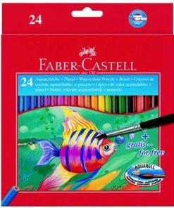 Faber Castell - Creioane colorate solubile în apă