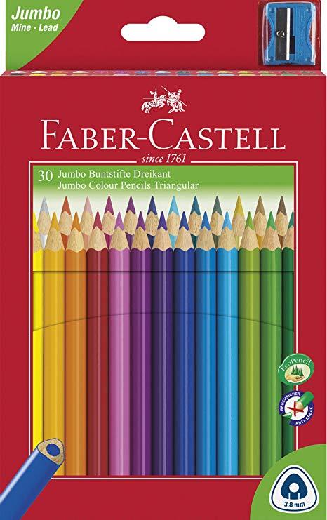 Faber Castell - Creioane colorate Jumbo