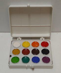 Acuarele Colibri 12 culori