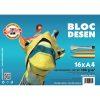 Bloc Desen A4 KIN