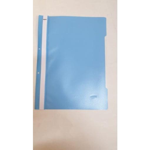 Noki - Dosar plastic A4 albastru deschis