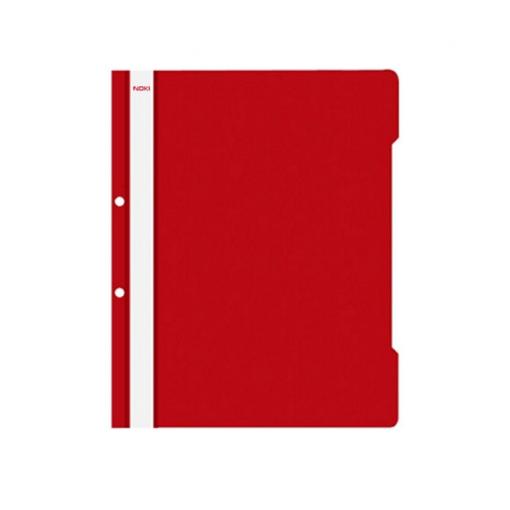 Noki - Dosar plastic A4 roșu