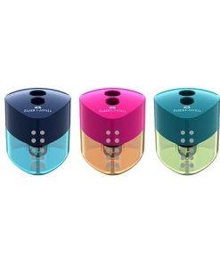 Faber-Castell - Ascuțitoare dublă cu container