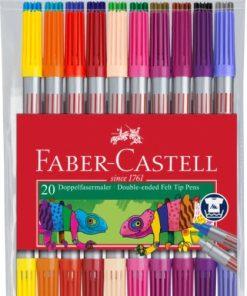 Faber-Castell Carioca 2 capete 20 culori