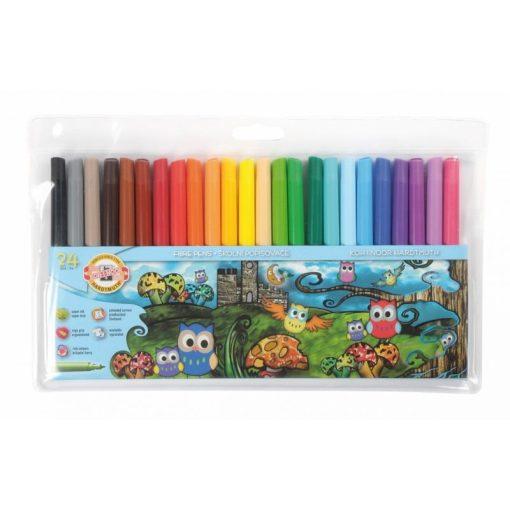 Koh-I-Noor - Carioci colorate Owls set
