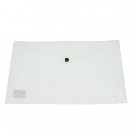 Daco - Mapă plastic cu capsă A5 transparentă