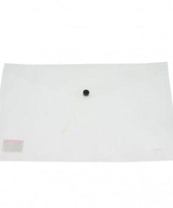 Daco - Mapă plastic cu capsă A4 transparentă