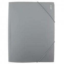 Daco - Mapă cu elastic A4 gri