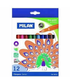 Milan - Carioca set 12 fine point 06F12