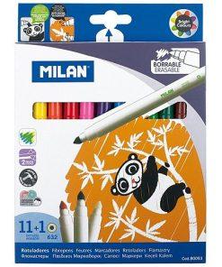 Milan - Carioci set 11+1 cu ștergere 80093