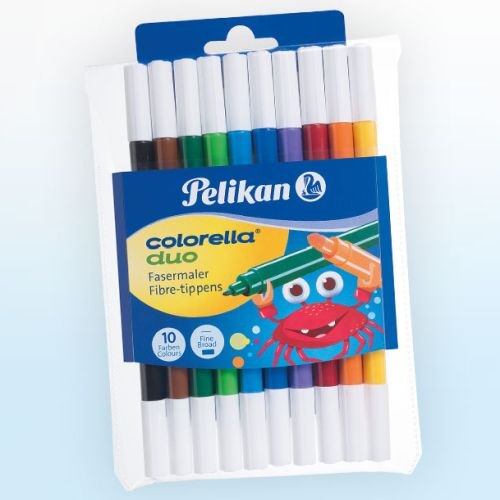 Pelikan - Set carioci colorate Colorella Duo