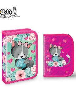 Penar S-cool Collection echipat 1 fermoar pentru fete Kitty SC1313