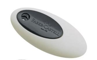 Faber Castell - Radieră cu mijloc de plastic