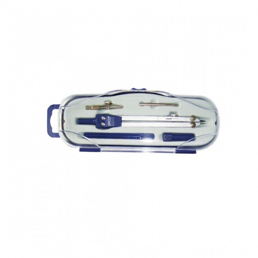 Daco - Compas metalic + 4 accesorii