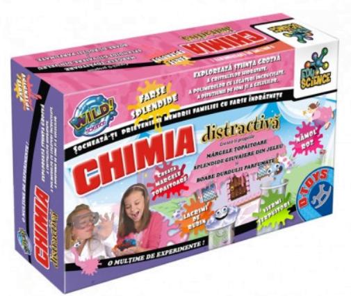 D-Toys - Joc educativ Chimia distractivă