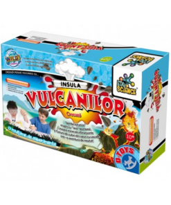 D-Toys - Joc creativ insula vulcanilor