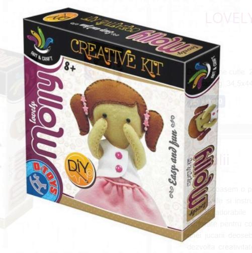 D-Toys - Joc Creativ Minunata Molly