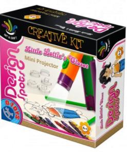 D-Toys - Joc creativ MiniProiector Design Spots