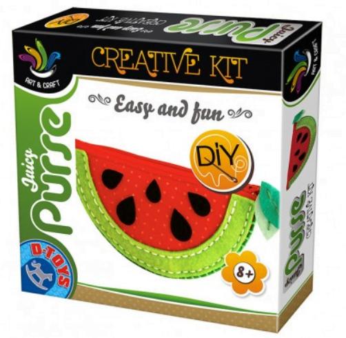 D-Toys - Joc creativ Poșetuța juicy