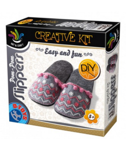 D-Toys - Joc Creativ Papucei de casă