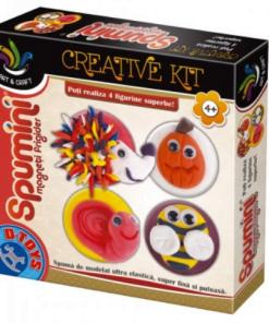 D-Toys - Joc creativ Spumini Magneți Frigider