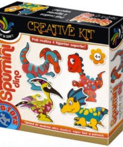 D-Toys - Joc creativ Spumini Dino