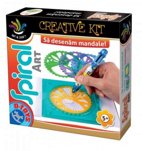 D-Toys - Joc creativ Spiral Art