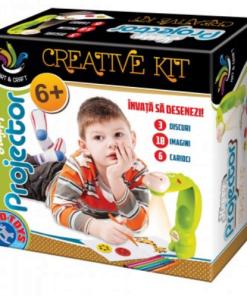 D-Toys - Joc creativ Proiector vesel