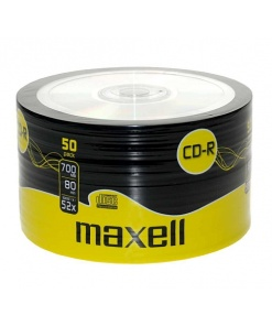 CD Maxell 700MB set 50