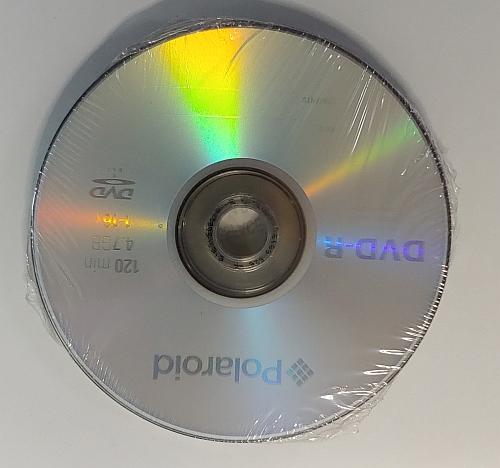 DVD-R Polaroid 4.7GB set 10
