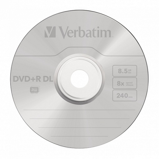 DVD+R Verbatim 8.5GB DL