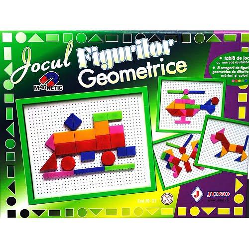 Juno - Joc Magnetic Figuri Geometrice