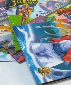 Omnibooks - Carte de colorat cu poveste