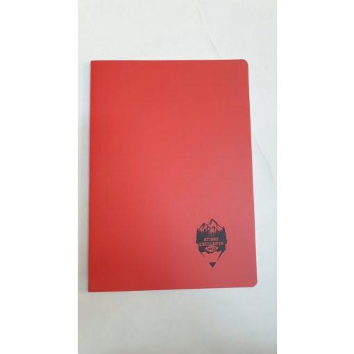Daco - Caiet A4 copertă PP roșu