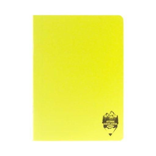 Daco - Caiet A4 copertă PP galben