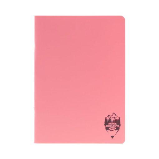 Daco - Caiet A4 copertă PP roz