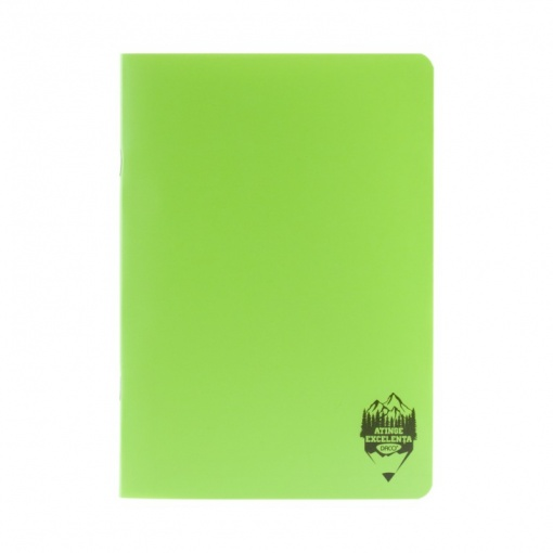 Daco - Caiet A4 copertă PP verde