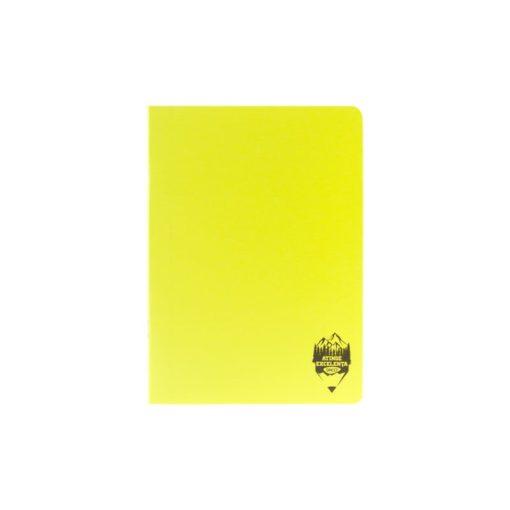 Daco - Caiet A5 copertă PP galben