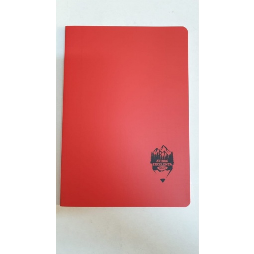Daco - Caiet A5 copertă PP roșu