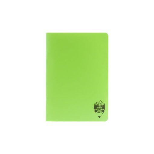 Daco - Caiet A5 copertă PP verde